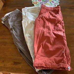 IBEX Organic Cotton Cropped Pants